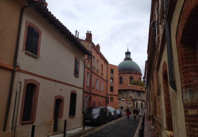 Studio in Toulouse - La Grave T1