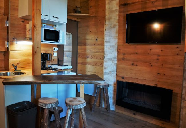 Apartamento en Ustou - 37VB, Studio 2/4 personnes, Guzet