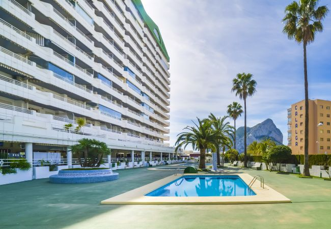 Appartement Esmeralda - Appartement en première ligne de plage à Calpe