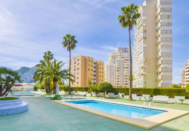 Appartement Esmeralda - Appartement en premiere ligne de plage Calpe