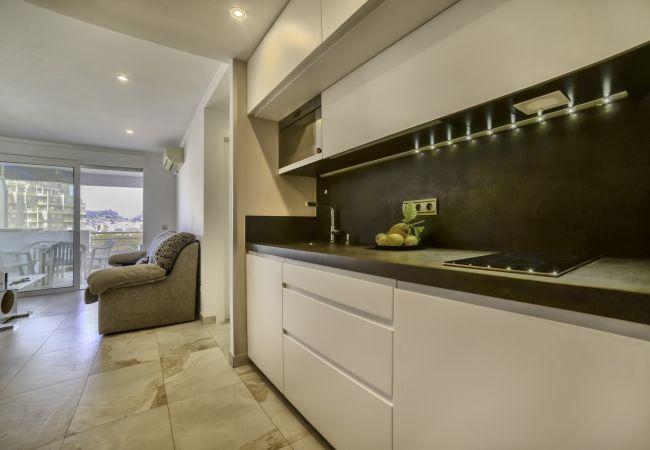 Appartement à Calpe - Appartement en première ligne de plage