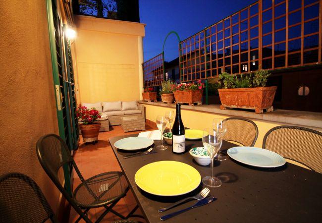 Appartement à Roma - Tiepolo Romantic Terrace Art Apartment
